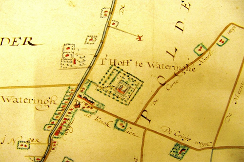 Kaart-van-abdij-van-rijnsburg-wateringen-en-het-hoff-1648-500x300-96ppi